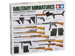 Tamiya GERMAN INFANTRY WEAPONS SET KT - 1:35 bouwpakket