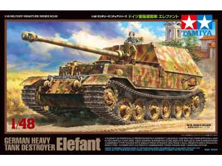 Tamiya German Heavy Tank Destroyer Elefant - 1:48 bouwpakket