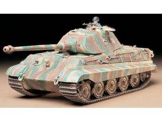 Tamiya German King Tiger Porsche Turret - 1:35 bouwpakket