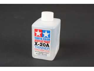 Tamiya X-20A Thinner (verdunner) 250ml