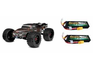 Team Corally DEMENTOR XP 6S 1/8 LWB brushless monster truck 4WD RTR inclusief Power Pack