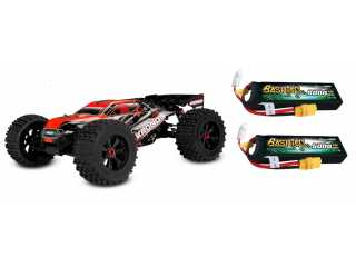 Team Corally KRONOS XP 6S 1/8 LWB brushless monster truck 4WD RTR inclusief Power Pack