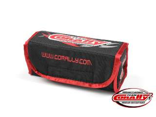 Team Corally Lipo Safe Bag - for 2 pcs 2S Hard Case Batterypacks