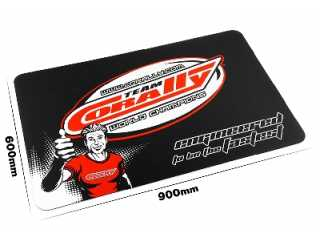 Team Corally Pit Mat Medium 900x600mm 3mm thick