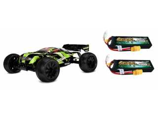 Team Corally SHOGUN XP 6S 1/8 LWB brushless truggy 4WD RTR inclusief Power Pack