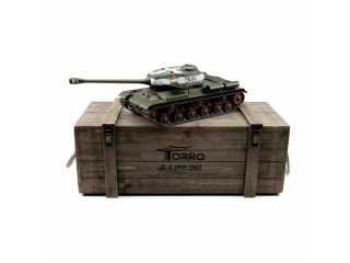 Torro Pro-Edition RC Tank 1/16 IS-2 1944 2.4Ghz geleverd in luxe houten krat