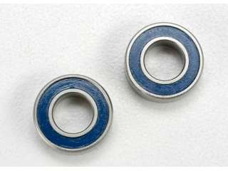 Traxxas Ball bearings, blue rubber sealed (6x12x4mm) (2) - TRX5117