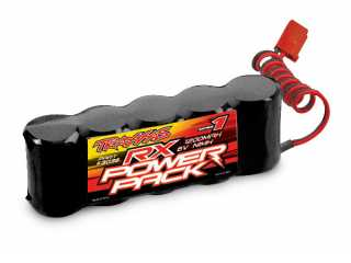 Traxxas Battery, RX Power Pack (5-cell flat style, NiMH, 1200mAh) - TRX3036