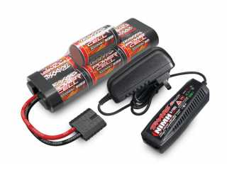 Traxxas Battery/charger completer pack (includes TRX2969 2-amp NiMH peak detecting AC charger (1), TRX2926X 3000mAh 8.4V 7-cell NiMH battery (1)) - TRX2984