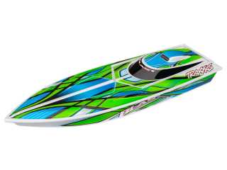 Traxxas Blast High Performance Boat RTR 2.4Ghz Groen - inclusief Power Pack