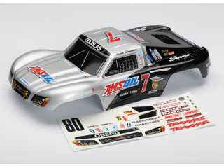 Traxxas Body, Amsoil replica, 1/16 Slash (painted, decals applied) - TRX7017