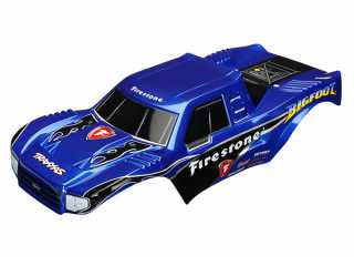 Traxxas Body, Bigfoot Firestone, Officially Licensed replica (painted, decals applied) - TRX3658