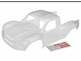 Traxxas Body, Desert Racer (clear, trimmed, requires painting)/ decal sheet - TRX8511