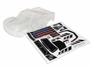 Traxxas Body, LaTrax Desert Prerunner (clear, requires painting)/ decals - TRX7616