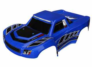 Traxxas Body, LaTrax Desert Prerunner, blue (painted)/ decals - TRX7618