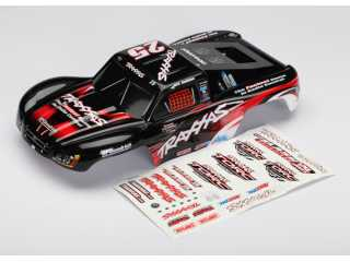 Traxxas Body, Mark Jenkins 25, 1/16 Slash (graphics are painted and decals applied) - TRX7084
