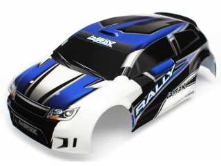 Traxxas Body LaTrax Rally blue painted & decals - TRX7514