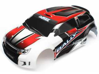 Traxxas Body LaTrax Rally red painted & decals - TRX7515