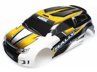 Traxxas Body LaTrax Rally yellow painted & decals - TRX7512