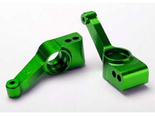 Traxxas Carriers, stub axle (green-anodized 6061-T6 aluminum) (rear) (2) - TRX1952G