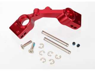 Traxxas Carriers, stub axle (red-anodized 6061-T6 aluminum) (rear) (2) - TRX1952A