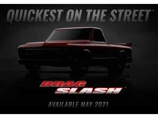 Traxxas Drag Slash 4X4 VXL Brushless Truck RTR TSM 2.4Ghz