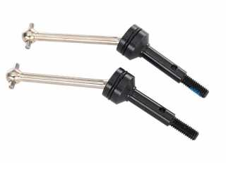 Traxxas Driveshafts steel constant-velocity (assembled) front (2) - TRX8350X