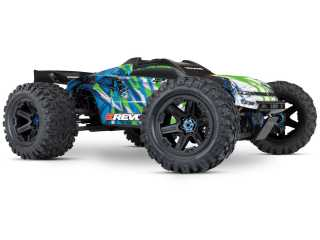 Traxxas E-Revo 2 Brushless Monster Truck RTR TSM 2.4Ghz - zonder batterij en lader