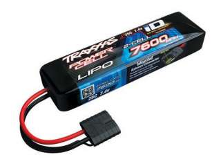 Traxxas Power Cell LiPo 7600mAh 7.4V 2S 25C ID Summit - E-Revo - Slash - TRX2869X