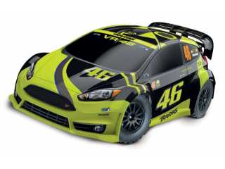 Traxxas Rally Ford Fiesta ST VR46 Valentino Rossi edition RTR 2.4Ghz - inclusief Power Pack
