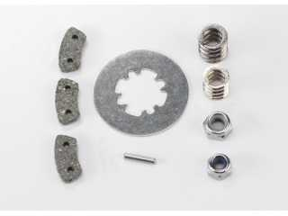 Traxxas Rebuild kit, slipper clutch (steel disc/ friction pads (3)/ spring (2)/ pin/ 4.0mm NL (1)/ 5.0mm NL (1)) - TRX5552X