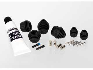 Traxxas Rebuild kit, steel-splined constant-velocity driveshafts (includes pins, dustboots, lube, and hardware) - TRX6757