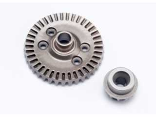 Traxxas Ring gear, differential/ pinion gear, differential (rear) - TRX6879