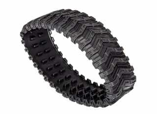 Traxxas Rubber track, All-Terrain, front (left or right) (rubber) (1) - TRX8895