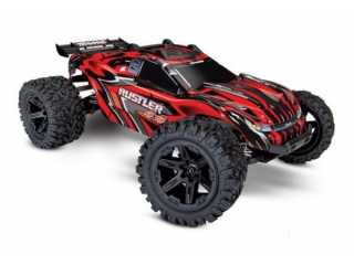 Traxxas Rustler 4X4 Brushed Stadium Truck RTR 2.4Ghz - inclusief Power Pack
