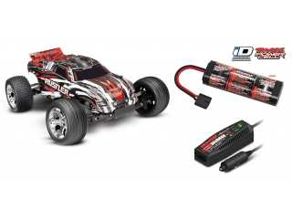 Traxxas Rustler XL5 2WD Stadium Truck RTR 2.4Ghz Rood - inclusief Power Pack