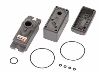 Traxxas Servo case/ gaskets (for 2080X metal gear, micro, waterproof servo) - TRX2081X