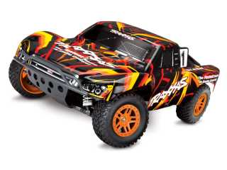 Traxxas Slash 4X4 4WD Brushed Short Course Truck RTR 2.4Ghz - inclusief Power Pack