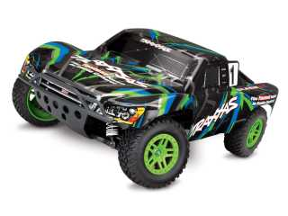 Traxxas Slash 4X4 4WD Brushed Short Course Truck RTR 2.4Ghz - zonder batterij en lader