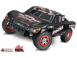 Traxxas Slash 4x4 Brushless Shourt-Course Truck RTR OBA & TSM 2.4Ghz + NiMH accu en lader