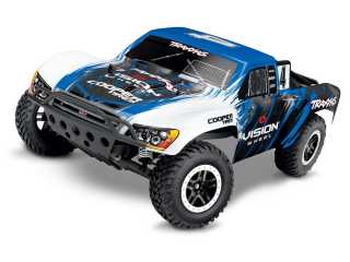 Traxxas Slash XL5 2WD Vision Short Course Truck RTR 2.4Ghz - inclusief Power Pack