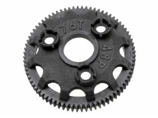 Traxxas Spur gear, 76-tooth (48-pitch) (for models with Torque-Control slipper clutch) - TRX4676
