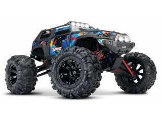 Traxxas Summit 1/16 brushed monster truck RTR 2.4Ghz + NiMH accu en lader