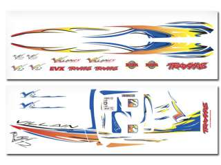 Traxxas TRX1518X - Full color die-cut decal sheet for the Villain EX