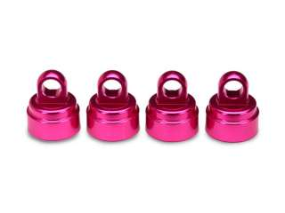 Traxxas Pink-anodized aluminum shock caps aluminum 4 fits all Ultra Shocks - TRX3767P