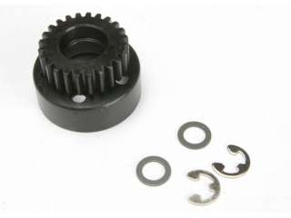 Traxxas TRX4124 - Clutch bell (24-tooth)/ 5x8x0.5mm fiber washer (2)/ 5mm E-clip (requires TRX4611-ball bearings 5x11x4mm (2)