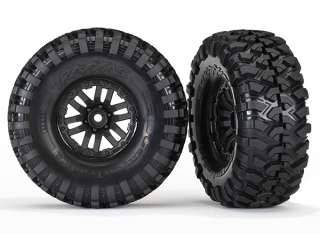 Traxxas Tires and wheels assembled glued Canyon Trail  1.9 tires 2 - TRX8272