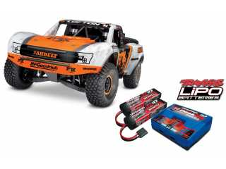 Traxxas Unlimited Desert Racer Pro-Scale 4WD Race Truck RTR TSM 2.4Ghz - inclusief Power Pack