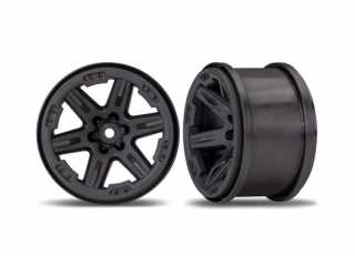 "Traxxas Wheels, RXT 2.8"" (black) (2) - TRX6772"