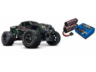 Traxxas X-Maxx 8S Limited Edition Green Brushless Monster truck RTR - inclusief Power Package
